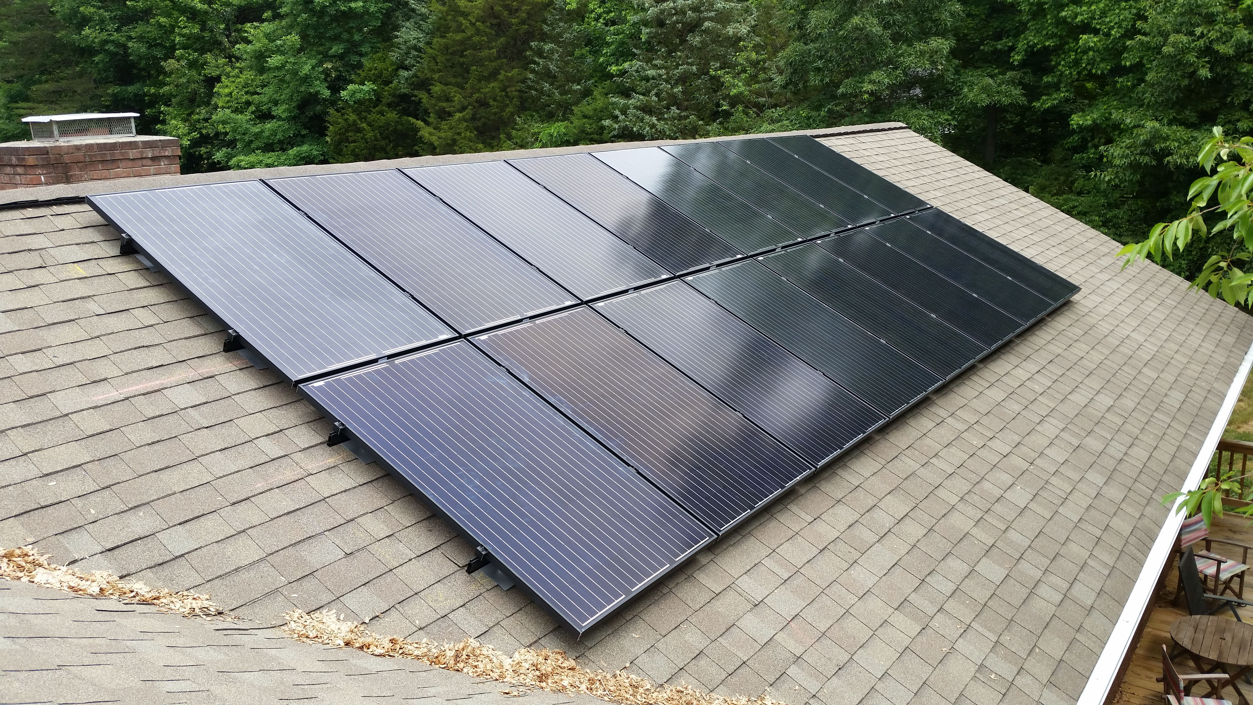 We Installed This 4 32 Kw Solar Array On A Home In Winstonsalem Putsolaronit Bit Ly 1o1gnlb Roof Solar Panel Solar Panels Installation