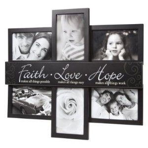 faith love hope frame found some at the dollar general that are cute as - Dollar General Picture Frames