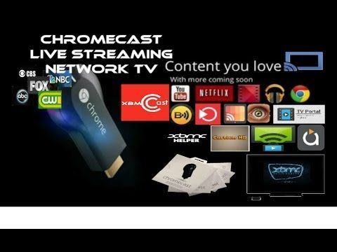 Chromecast Streaming Live Cable TV for Free with Cast2TV