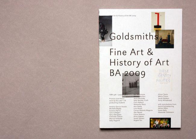 Helios Capdevila — Goldsmiths Fine Art & History of Art 2009