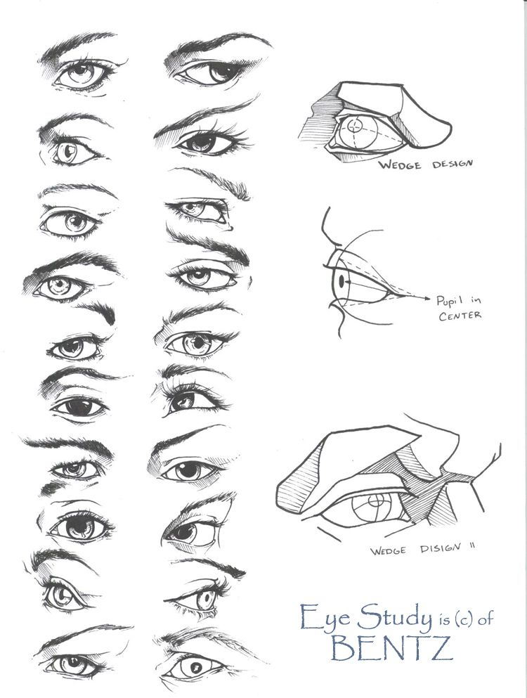 EYE STUDY by ~Sariel367 on deviantART