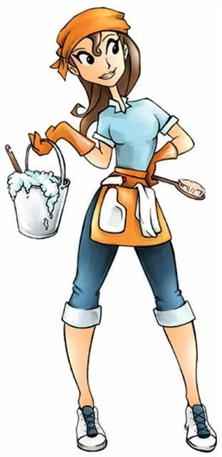 Gallery For Limpieza De Casas Dibujos Cleaning Cartoon Cleaning