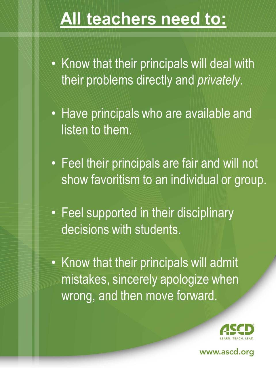 Principals Are You Supporting Your Teachers This Blog Post Will