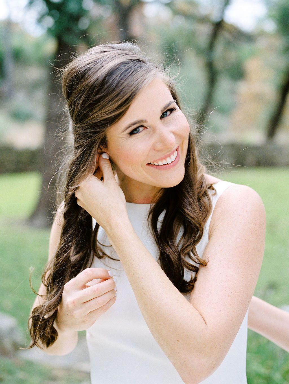 bridal hair & makeup inspiration - austin, texas wedding