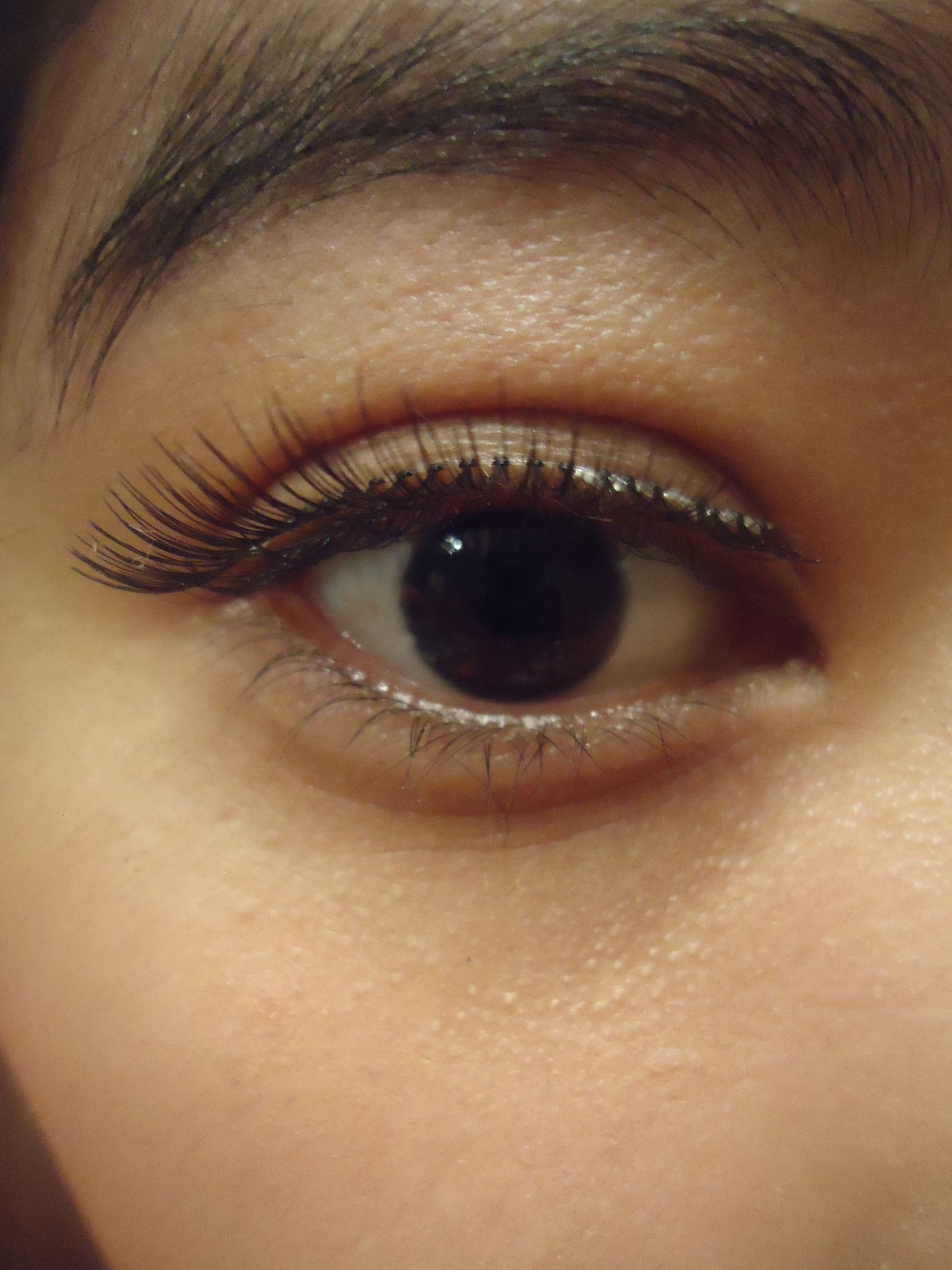 Measure The False Lash Then Cut Excess To Fit Your Real Lashesss
