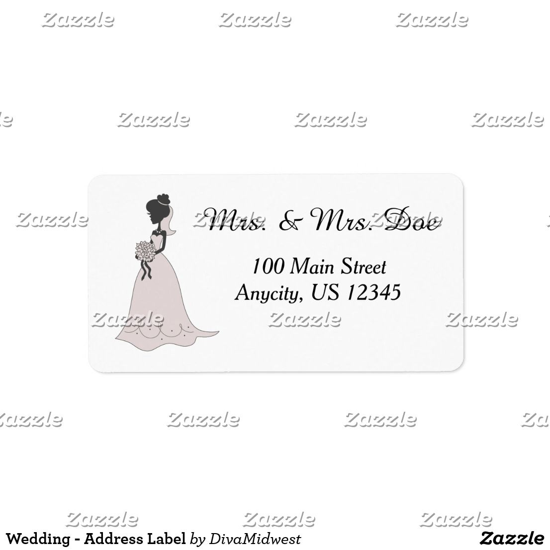 Wedding  Address Label  Sport Templates    Wedding