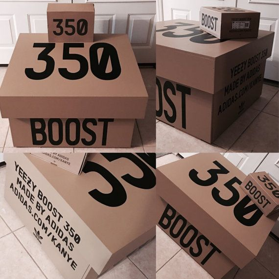 Yeezy 350 Boost Storage Box V2 12 Pair By Lemaisondeluxe On Etsy Yeezy Shoes Giant Shoe Box Yeezy