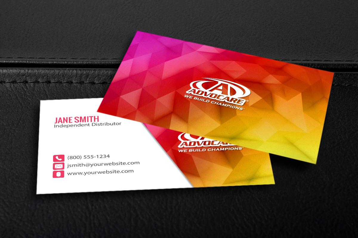 Advocare Distributors, we've got your business card needs ...