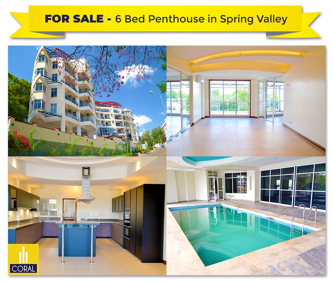6 Bed Penthouse For Sale In Spring Valley 🔥 For more