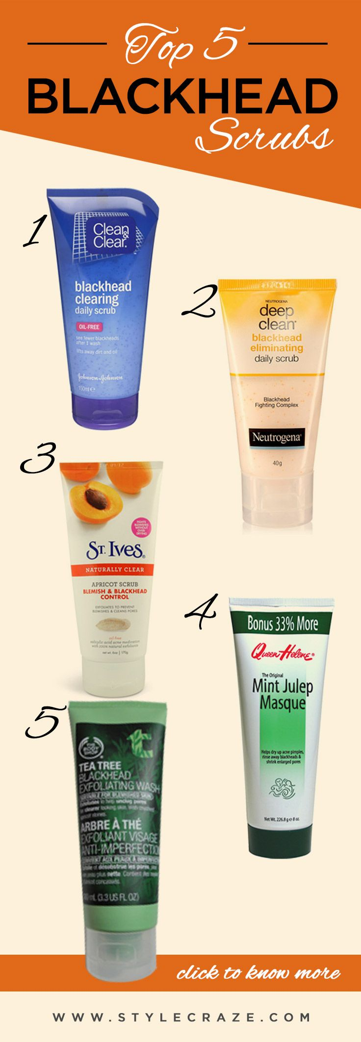 Blackhead removal creams and scrubs pics