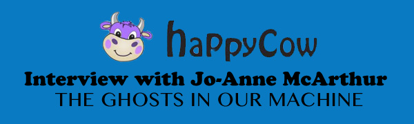 """Christy Morgan (@Christy Morgan/The Blissful Chef) sits down with """"The Ghosts In Our Machine""""'s Jo-Anne McArthur  for an interview on HappyCow! Find out more about the compelling documentary and Jo-Anne's vision!"""