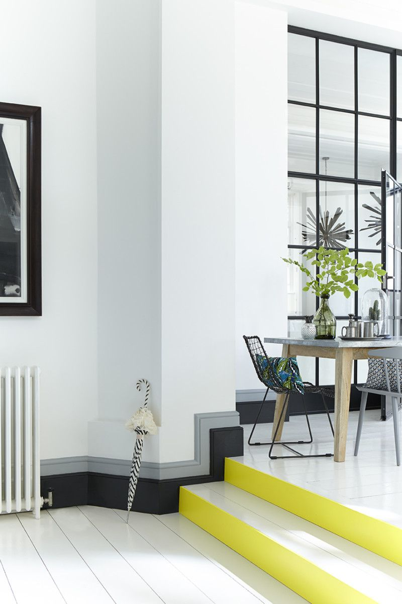 Decorating with Skirting Boards | Perfect grey paint, Interior