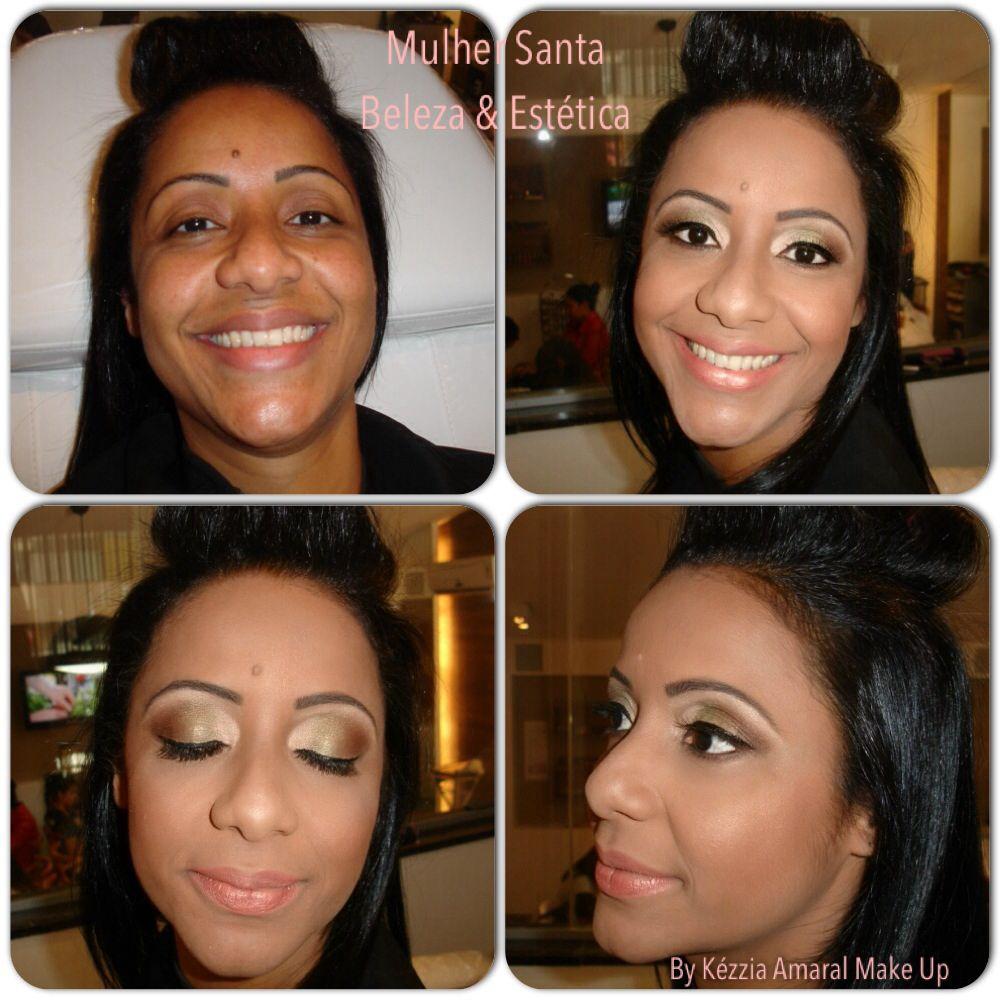 Make madrinha de casamento / dia.... Clássica, by Kézzia Amaral Make Up