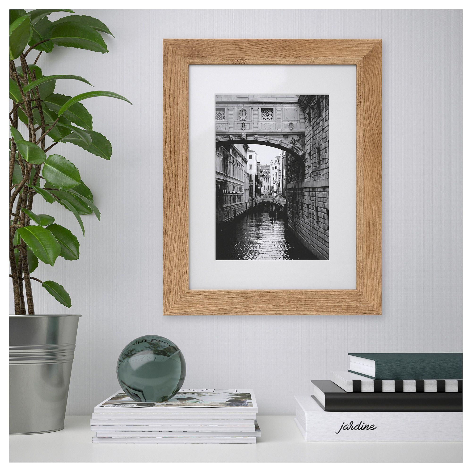 Dalskarr Frame Wood Effect Light Brown 12x16 31x41 Cm Frames On Wall Wood Picture Frames Frame