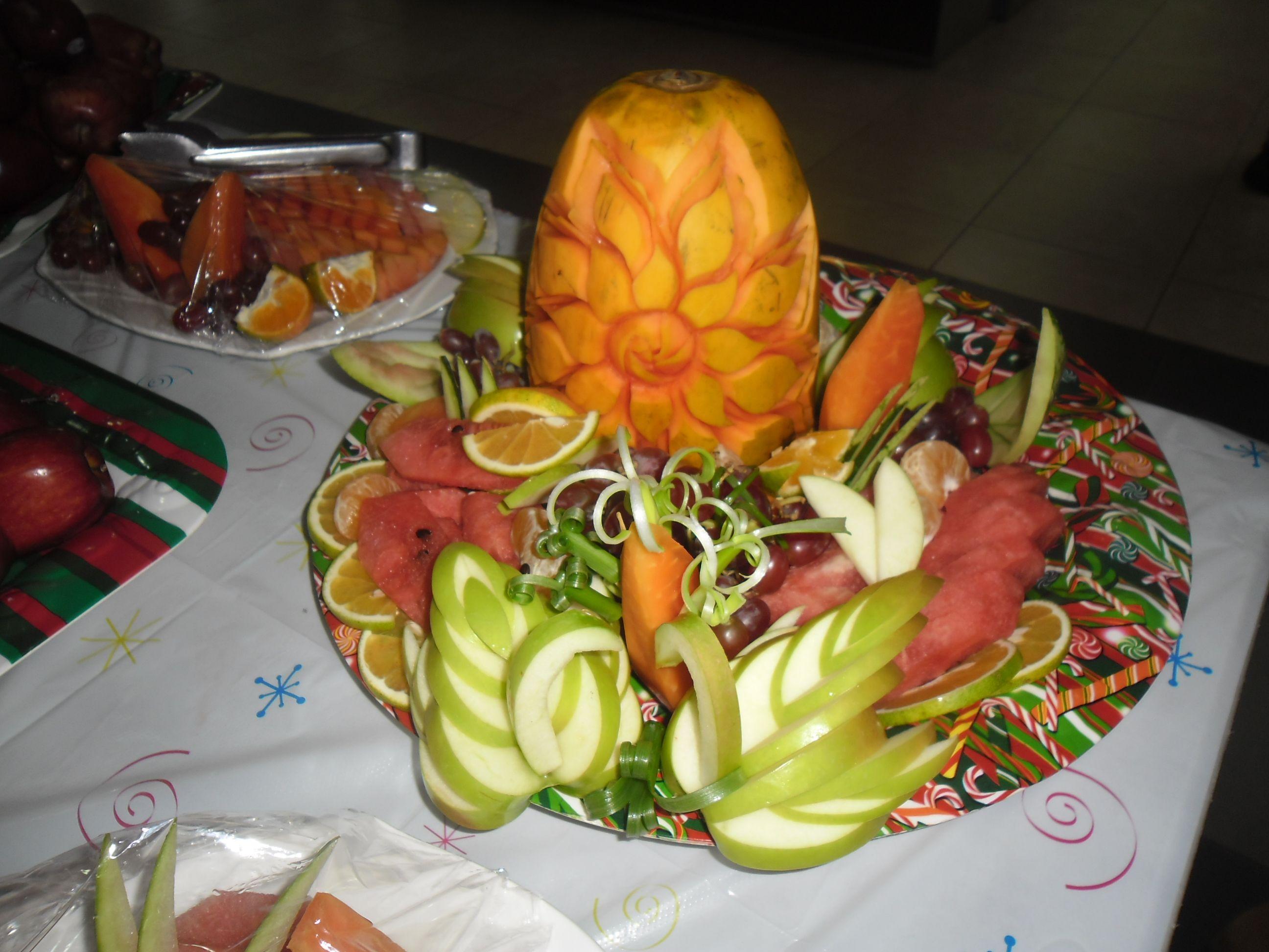 Diseño en frutas by Camil