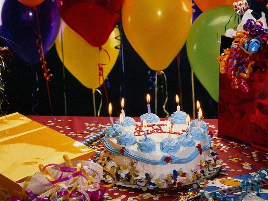 Wondrous 30 Elegant Photo Of Birthday Cake And Balloons Happy Birthday Funny Birthday Cards Online Sheoxdamsfinfo