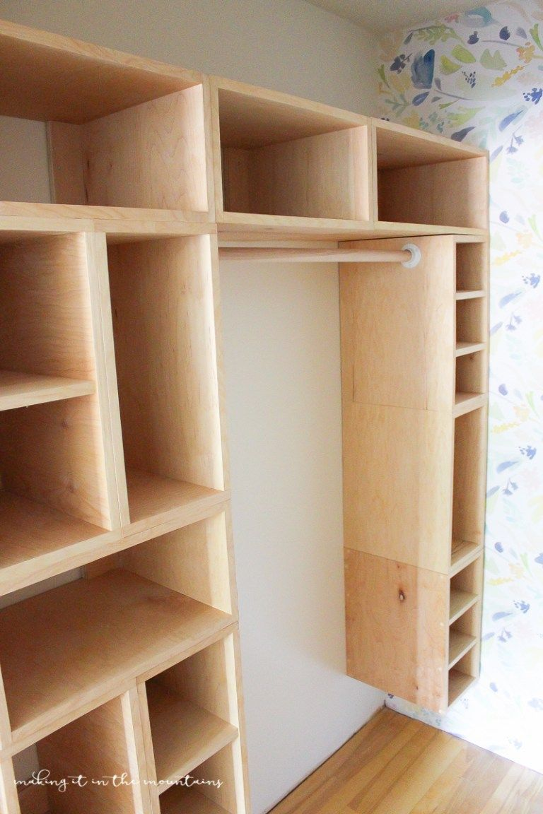 diy custom closet organizer: the brilliant box system | stuff