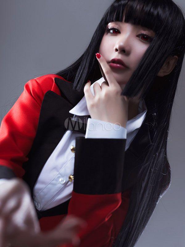 Photo of Kakegurui Compulsive Gambler Jabami Yumeko Halloween Cosplay Costume Halloween -…
