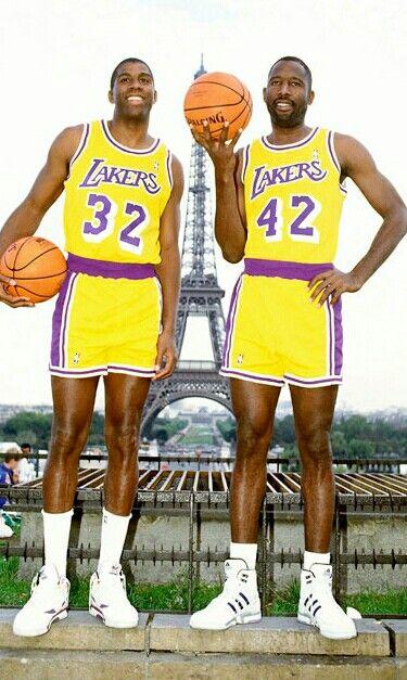 Nba legends, James worthy, Magic johnson