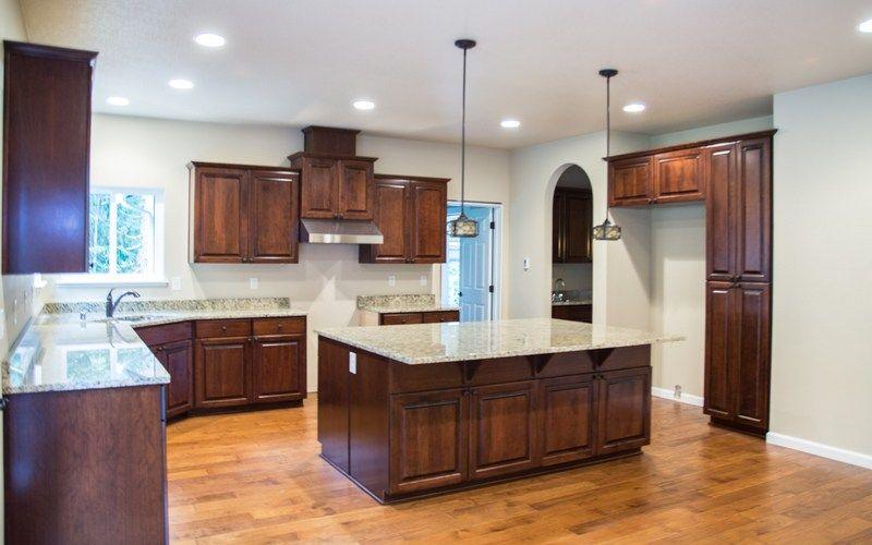 3217 Kitchen Arched Hallways Darker Heated Wood Tile