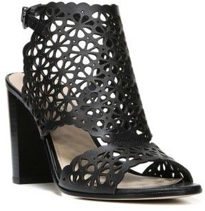 2cef4ec12  116.98 - Women s Via Spiga Garnet Perforated Ankle Strap Sandal - Laser-cut  floral perforations pattern a breezy leather sandal featuring flirty  cutouts at ...