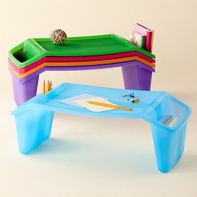 Kids Arts Crafts Plastic Lap Tray Desks Monogram For S W Cricuit