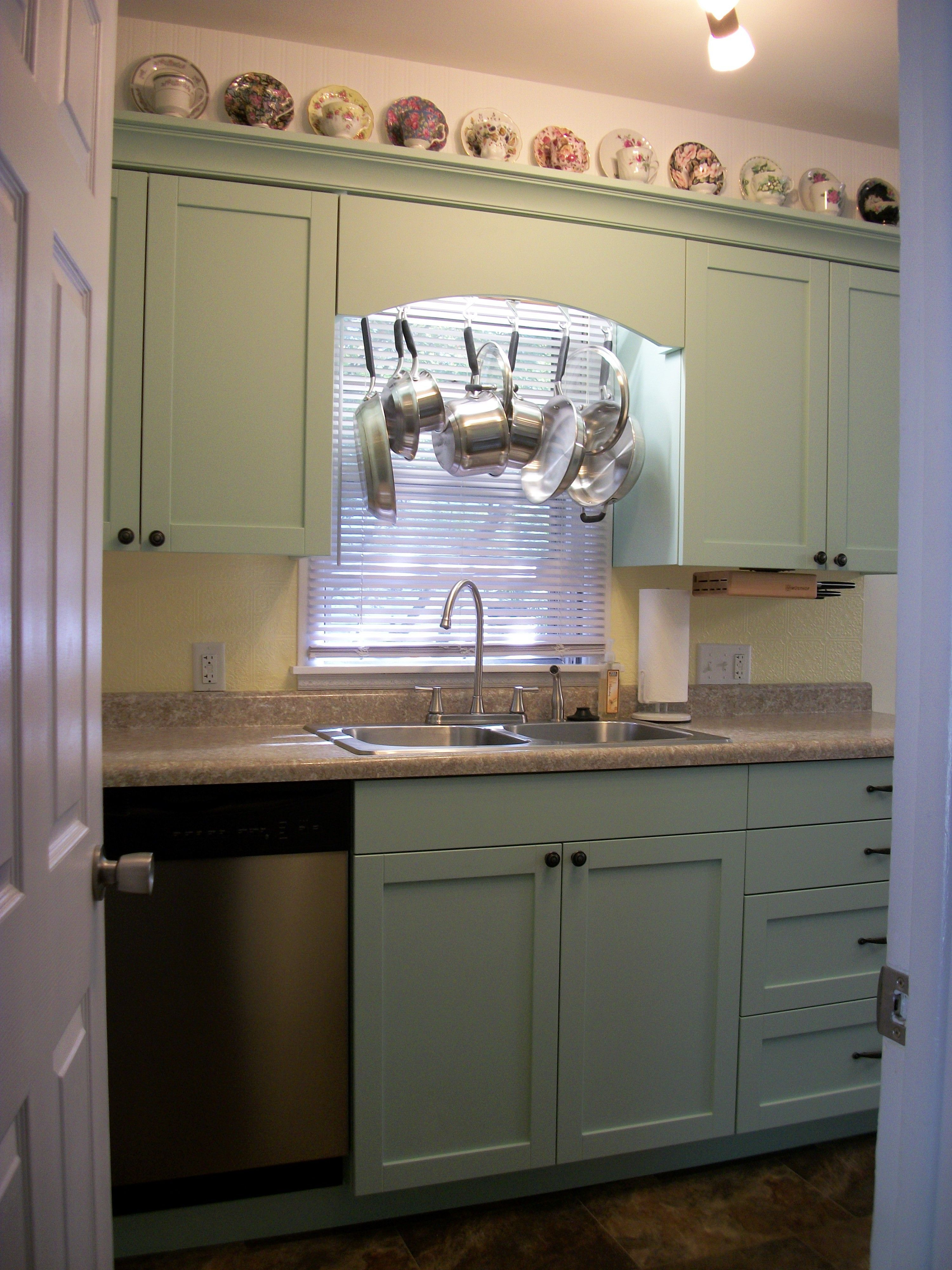 on ideas for above kitchen sink window with no space pinterest