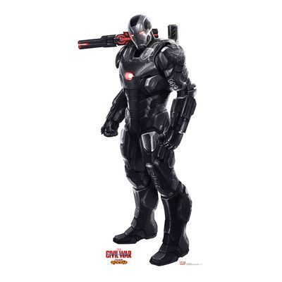 Advanced Graphics War Machine from Captain America Civil War Life-Size Cardboard Standup