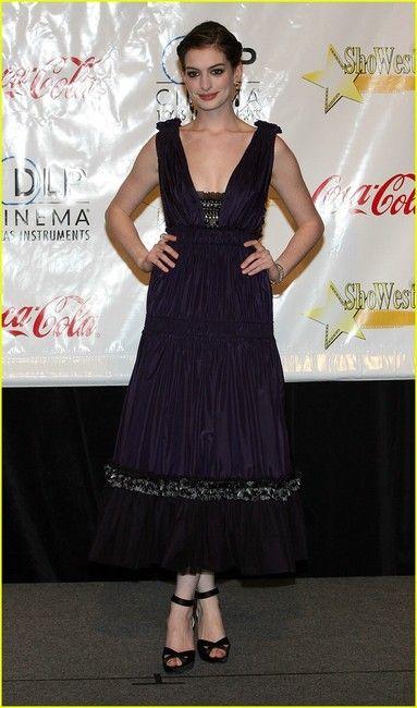 Anne Hathaway in Derek Lam dress