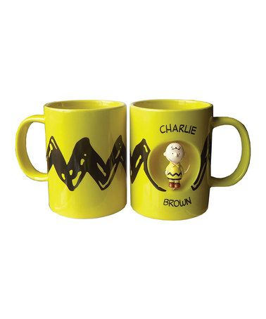 Love this Charlie Brown Spinner Mug by Peanuts by Charles Schulz on #zulily! #zulilyfinds