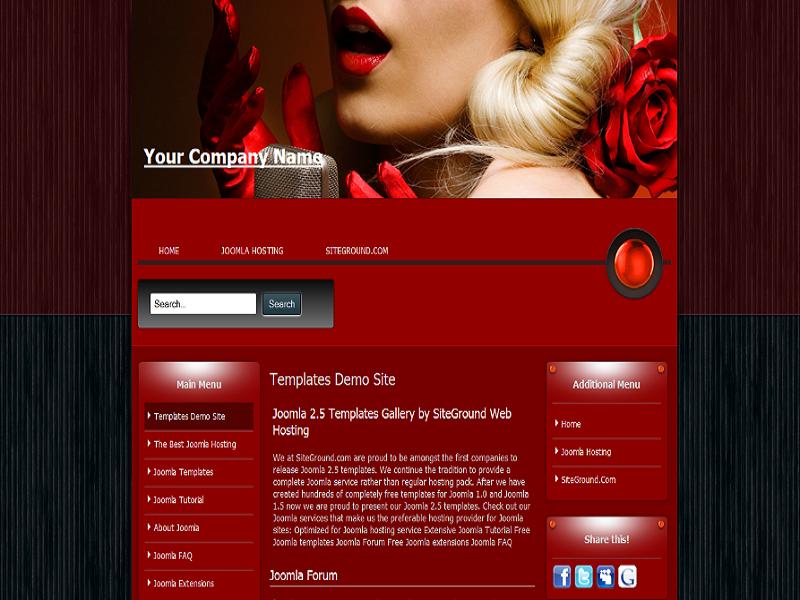 Siteground Joomla Template Gallery Free
