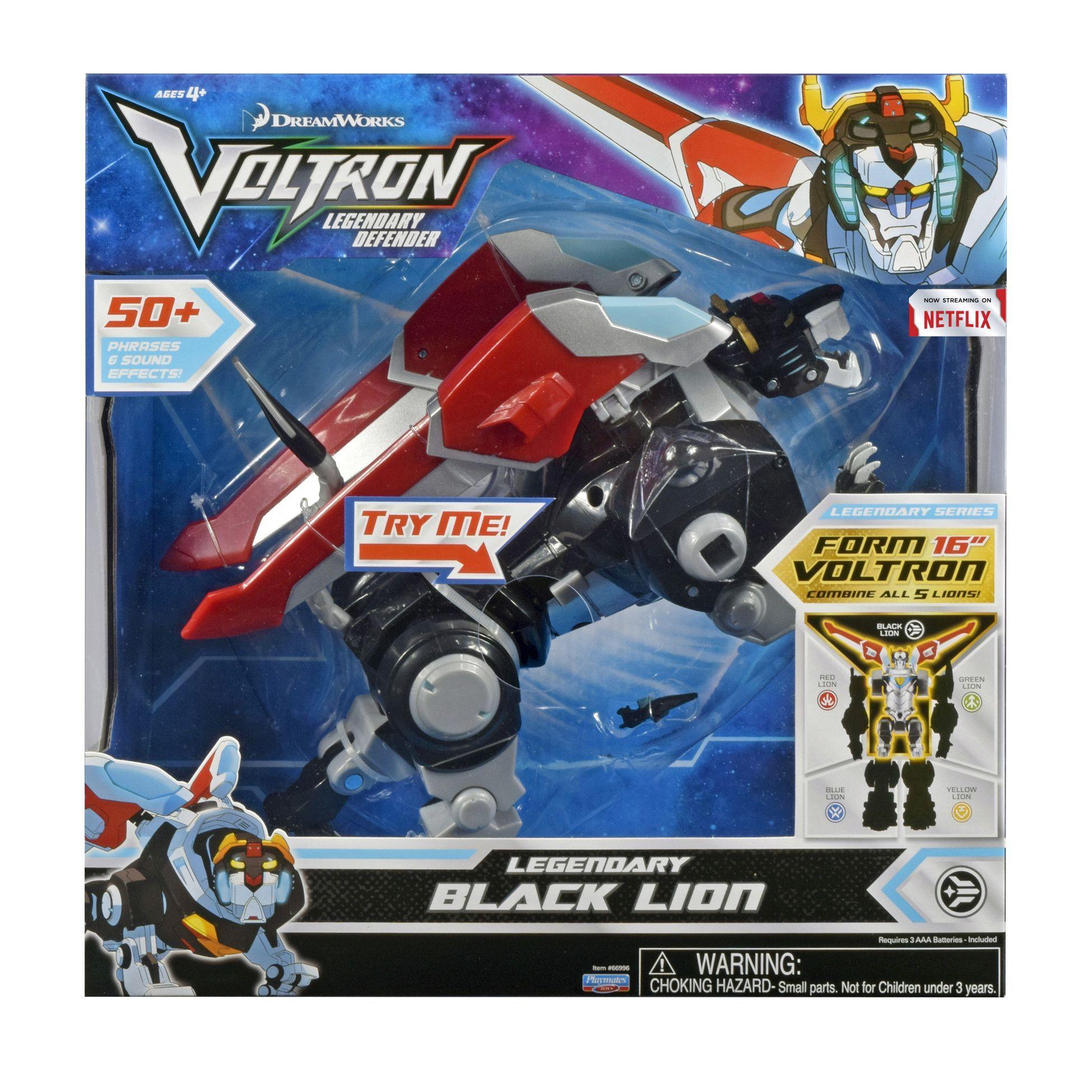 Voltron Legendary Electronic Black Lion Black lion