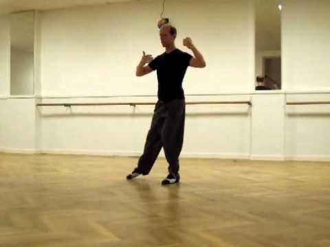 Lápiz y aguja con pivot y cambio de pierna con enrosque atrás - YouTube