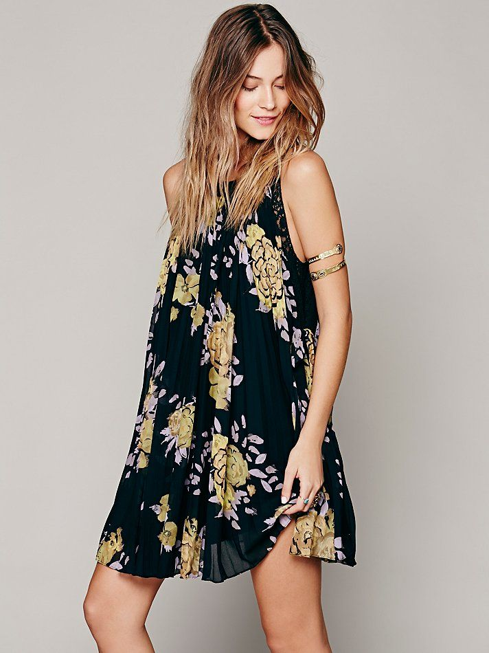 9e7fdcbef9d4 Free People Pleated Tent Dress, $148.00 | New Arrivals | Tent dress ...