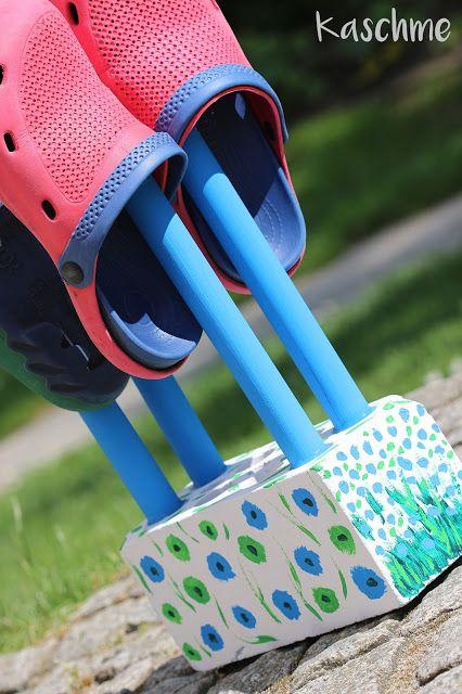 Kaschme Ein Platz Fur Unsere Gartenschuhe Gartenschuhe Schuhaufbewahrung Garten