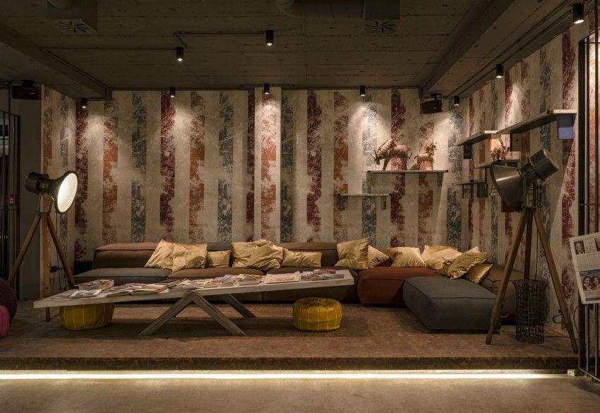wandgestaltung mit tapeten zirkus, wandgestaltung mit tapeten – die zirkus traumwelt vom 25hours hotel, Design ideen
