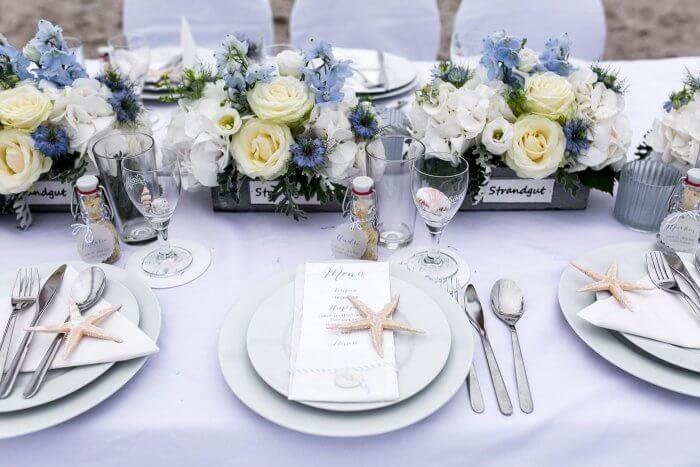 Tischdekoration Maritim In 2019 Tischdekoration Zur Hochzeit