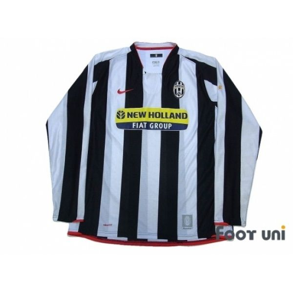 best loved a7365 a7c11 Photo1: Juventus 2007-2008 Home L/S Shirt nike - Football ...