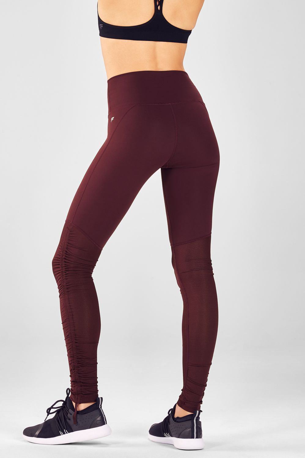ce3afe07a3d58 Cashel Foldover PureLuxe Legging in 2019 | looks I want | Burgundy ...