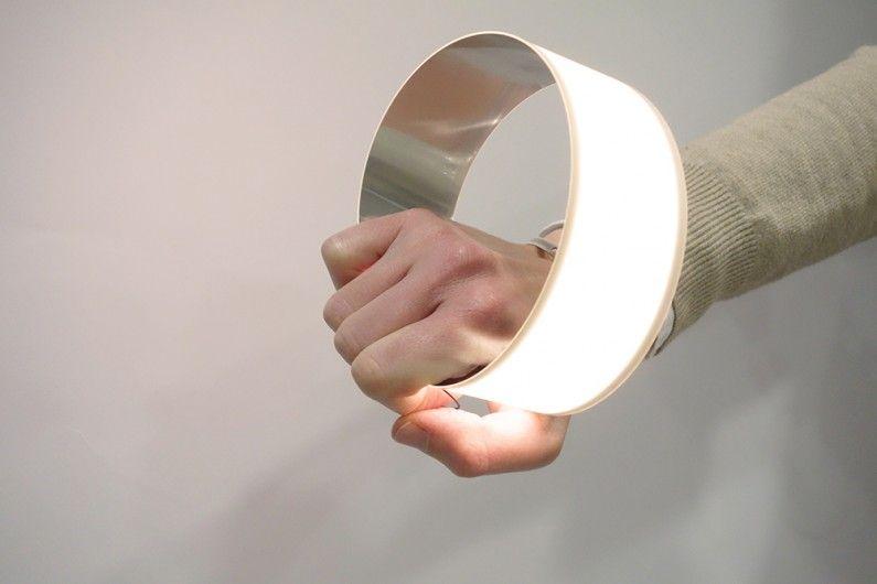 Blackbody Oloop Flexible Oled Light Lumière Lighting In