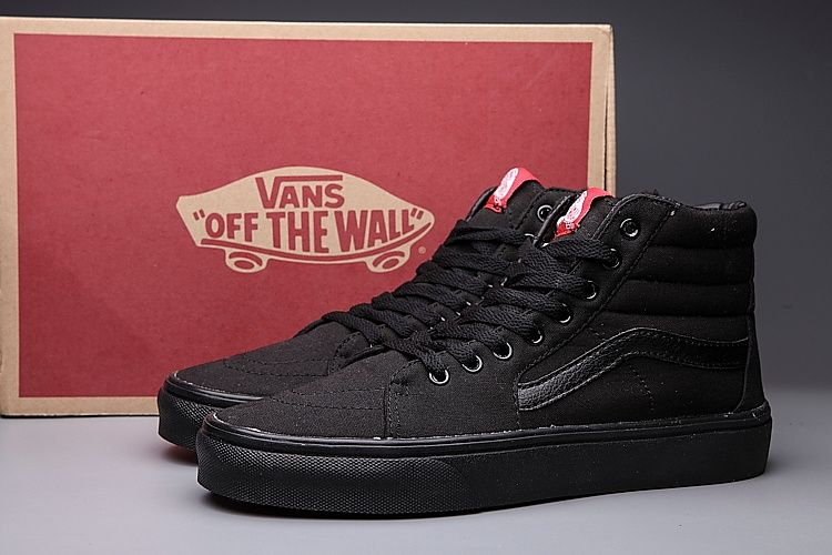 334df5c994 Vans Black Original Old SKool Unisex High Shoes