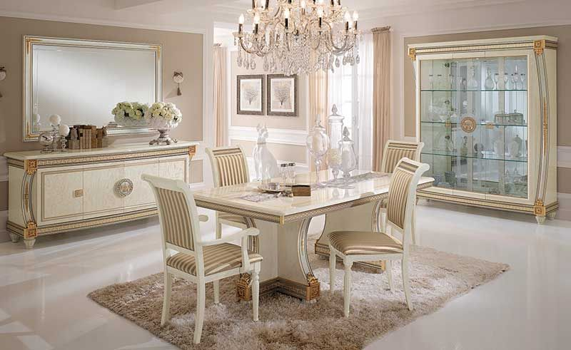 Royale New Italian Furniture And Sets Classic Italian Dining