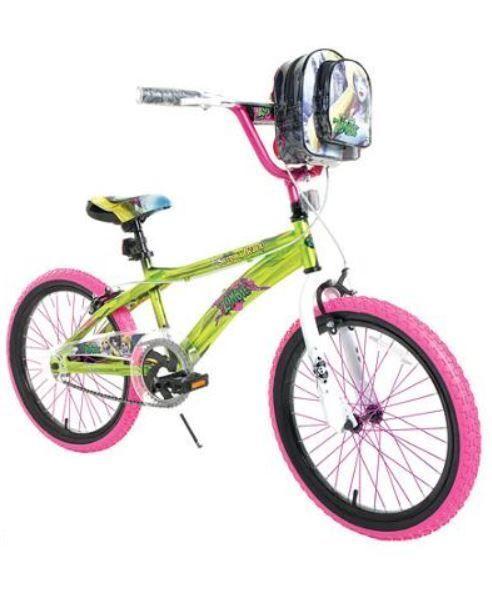 20 Girls Street Bike Fun Single Speed Handlebar Bag Bright Green