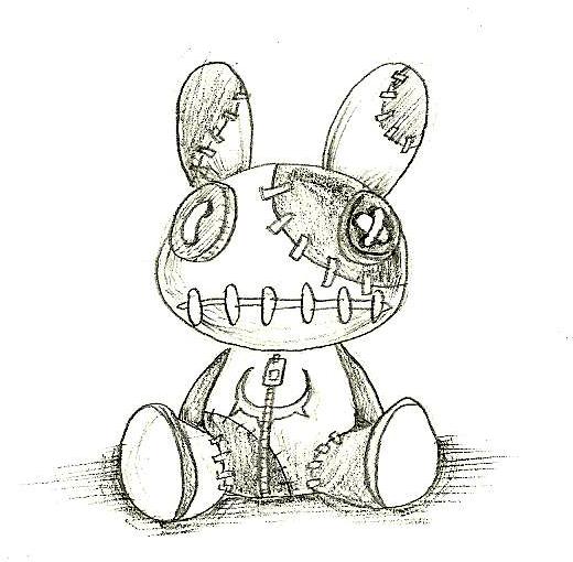 Voodoo By Cjcat2266 On Deviantart Doll Drawing Creepy Drawings Voodoo Doll Tattoo