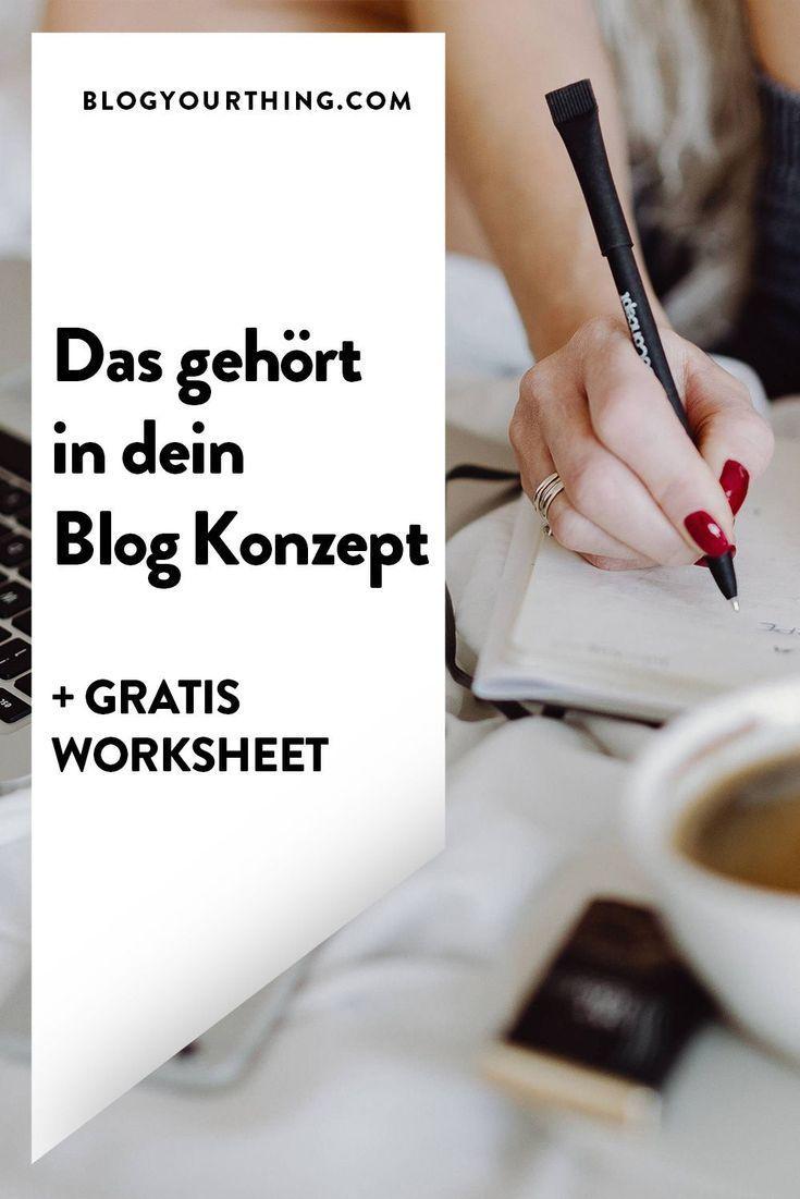 So wichtig ist ein Blog Konzept für einen erfolgre