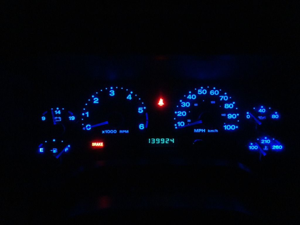 Tj dash lights mod easy and cheap page 15 jeep wrangler forum