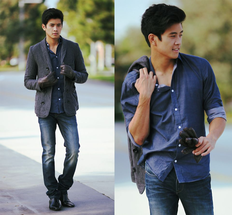 Dicas de moda para homens baixos e magros - Toda Perfeita 9005a655cc827