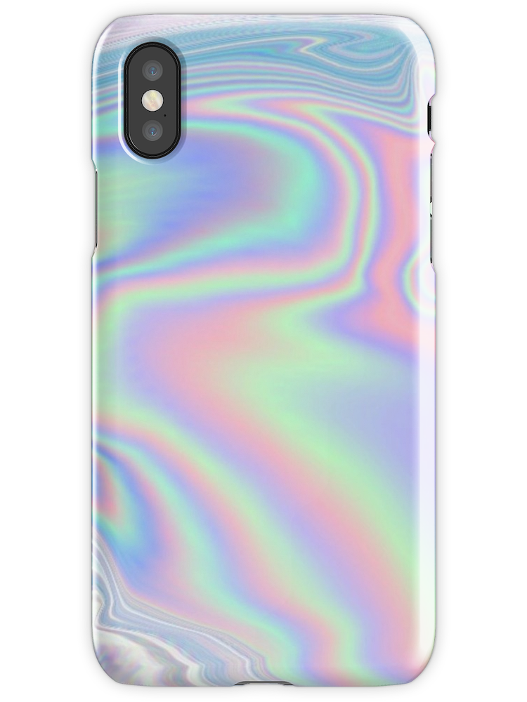 'HOLO' iPhone Case by miramakesmovies
