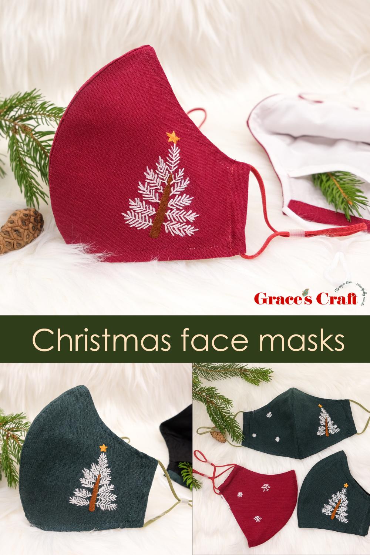 Face masks for Christmas 2020