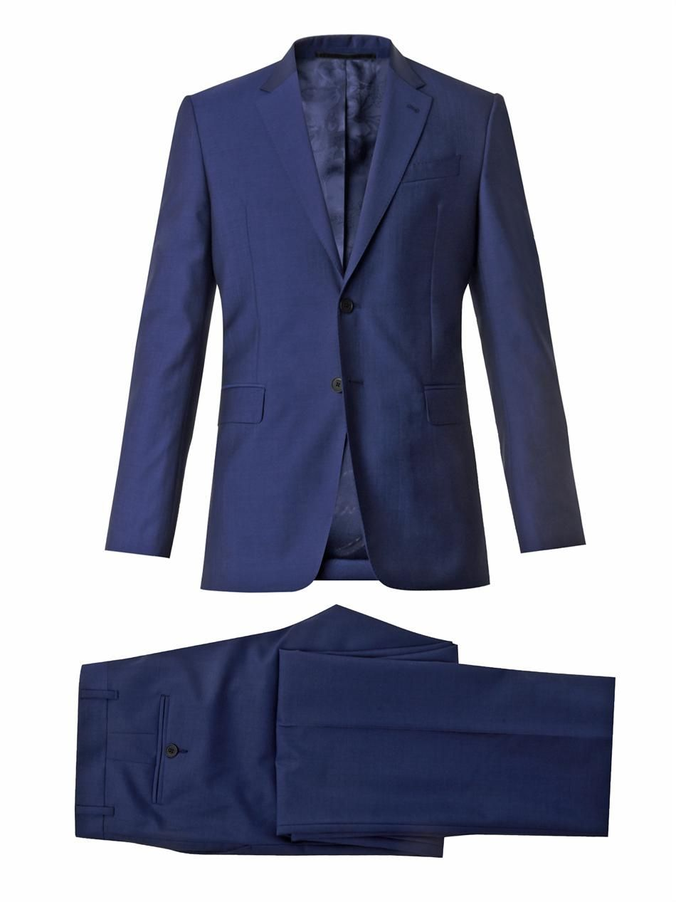 e40bf65336 PAUL SMITH LONDON Byard single-breasted wool suit. Like the blue ...